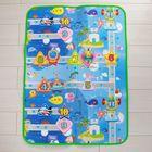 Коврик детский на фольгированной основе «Дороги», размер 120х90 см