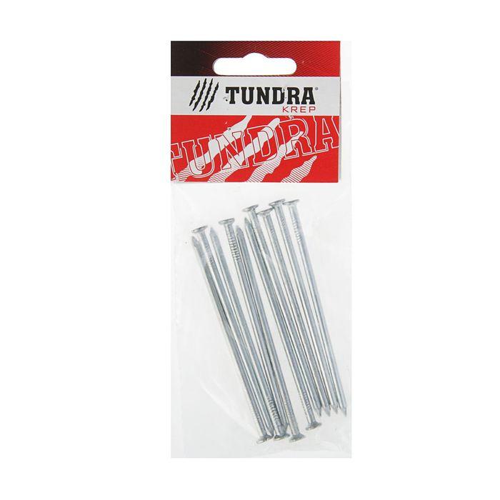 Гвоздь строительный TUNDRA krep, 3.5х90 мм, оцинкованный, в упаковке 10 шт.