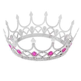 Венец королевы, цвет серебристый