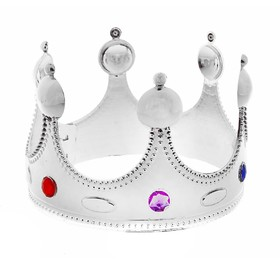 """Crown for king"" silver"