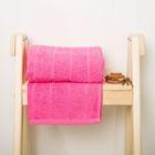 Полотенце махровое Spany Road цв.розовый 50х90, 300г/м, хл100%