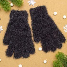 """Перчатки женские """"Самира"""", размер 16, цвет чёрный"""