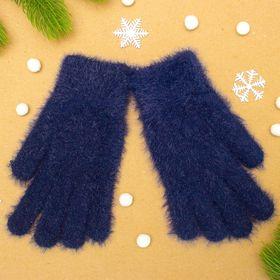 """Перчатки женские """"Самира"""", размер 16 (р-р произв. 20*8 см), цвет фиолетовый"""