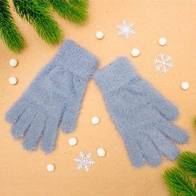 """Перчатки женские """"Самира"""", размер 16, цвет серый"""