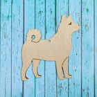 "Pendant of the dog ""Laika"""