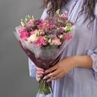 Пленка для цветов, шоколадный, 60 х 60 см