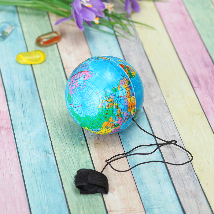 Мяч «Глобус», мягкий