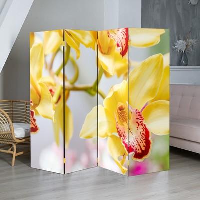 "Ширма ""Орхидеи"", 200 × 160 см"