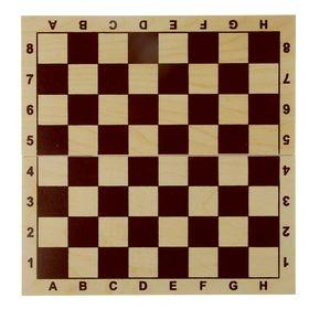 Доска шахматная обиходная, без фигур, 29х14 см