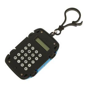 Калькулятор-брелок, «Машина», 8-разрядный, МИКС