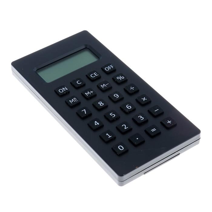 Калькулятор карманный, 8-разрядный, МИКС - фото 447543863