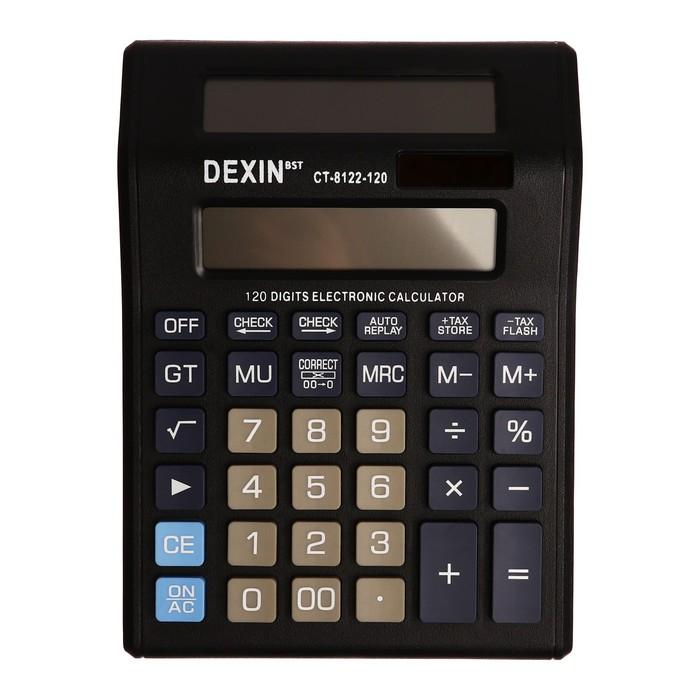 Калькулятор настольный, 12-разрядный, CT-8122-99, двойное питание, двойной циферблат