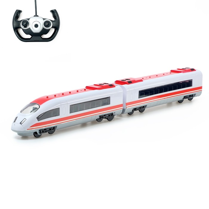 Поезд радиоуправлемый «Стрела», работает от аккумулятора, свет - фото 105646861