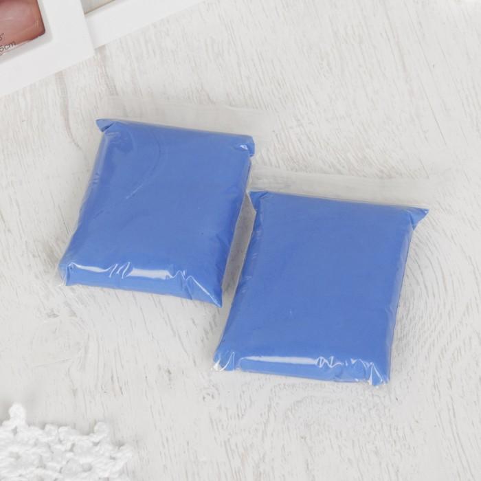 """Набор для создания слепка ручки, ножки малыша """"Трио"""", 100 гр, цвет массы голубой"""