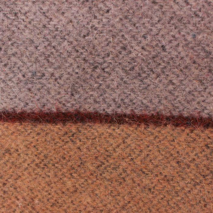 Одеяло арт.ОШ75 полоса суровое 140х205, 500г/м, шерсть 70%,п/э 30%