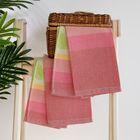 Комплект вафельных полотенец (2 шт), 50 х 70 см, цвет розовый, хл.100% (арт.КЦ-560х2-2923)