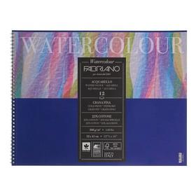 Альбом для Акварели, хлопок 25%, 320 х 410 мм, А3, Fabriano Watercolour, 12 листов, 300 г/м² , Fin (мелкое зерно)