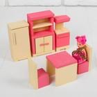 """Кукольная мебель """"Кухня"""", 6 предметов"""