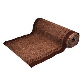 Ковёр влаговпитывающий Trophy 100 х 1500 см, цвет коричневый