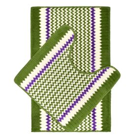 Набор ковров для ванной Berlin, 50х80, 50х50см, цвет МИКС