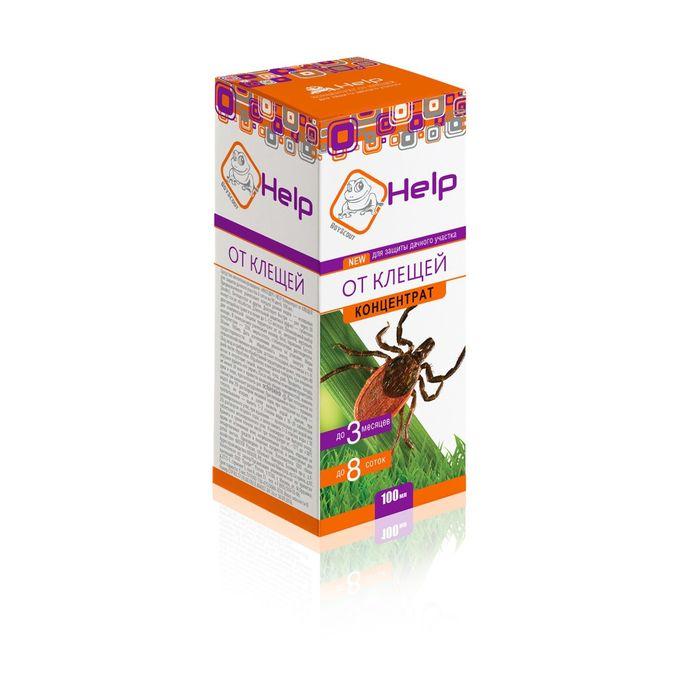 Концентрат от КЛЕЩЕЙ для защиты дачного участка до 8 соток, инсектицидный, 100 мл