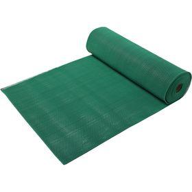 Ковёр-дорожка ПВХ Zig-Zag, 5 мм, 0,9 х 10 м, против скольжения, цвет зелёный