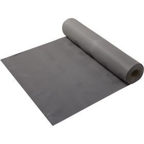 Ковёр-дорожка ПВХ «Полоска», 2,3 мм, 0,9 х 10 м, против скольжения, цвет серый