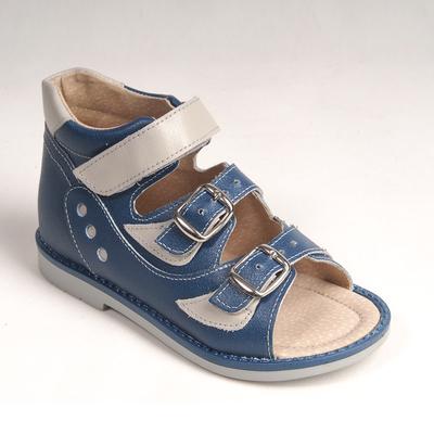 Туфли открытые детские арт. BT 90А-210D.22ВТ (син/сер) (р. 24)