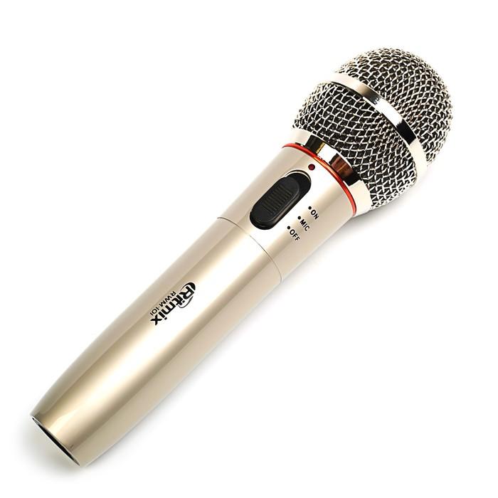 Микрофон RITMIX RWM-101 Titan, 100-10000 Гц, штекер 6.3 мм