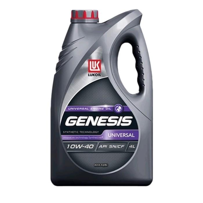 Моторное масло Лукойл Genesis Advanced 10W-40, 4л