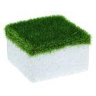 Основа для композиций с зелёным напылением 5,3*5,3 см