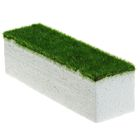 Основа для композиций с зелёным напылением 17,3*5*5 см