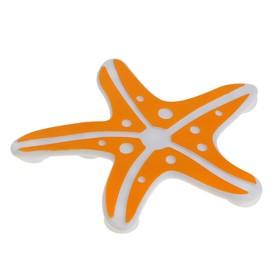 Набор мини-ковриков для ванны «Морская звезда», 10×10 см, 5 шт, цвет МИКС