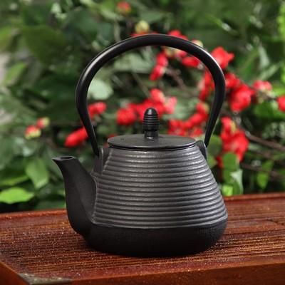 """Чайник с ситом 1 л """"Атьяф"""", цвет черный"""