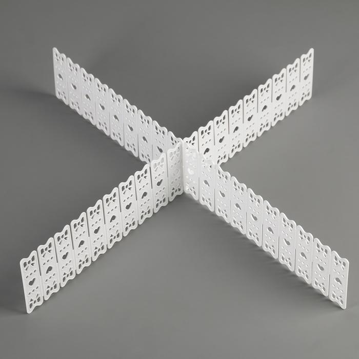 Органайзер-разделитель для ящиков 2 шт, цвет МИКС