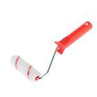 Валик COLOR EXPERT, полиакрил, 100 мм, ворс 12 мм, красная нить, удлиненная ручка 29 см