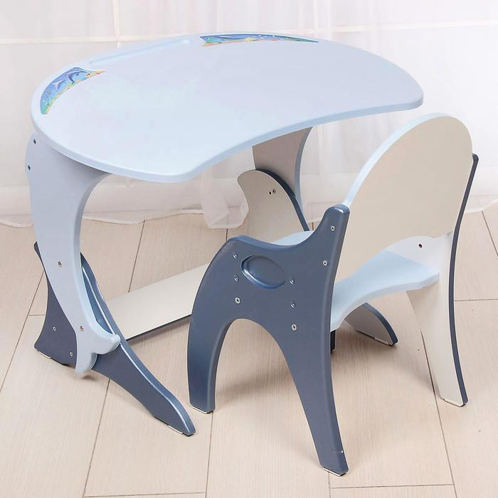 "Набор мебели регулируемый ""Дельфин"": стол, стул"