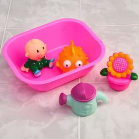 Набор для игры в ванне «Полянка», 5 предметов