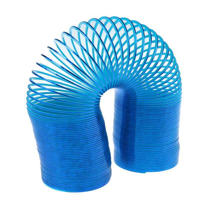 Пружинка-радуга «Блеск», цвет синий
