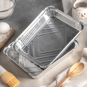 Set the baking dish from the foil of 1.04 l, 2 PCs