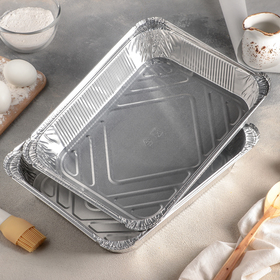 A set of forms for baking foil-3,18 l, 2 PCs