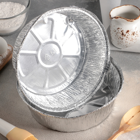 A set of forms for baking foil 1,405 l, 2 PCs