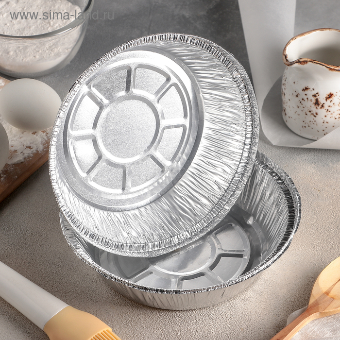 Set the baking dish with foil and 770 ml, 2 PCs