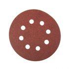 Круги шлифовальные с отверстиями FIT (липучка), алюминий-оксидные, 125 мм, 5 шт, Р100