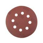 Круги шлифовальные с отверстиями FIT (липучка), алюминий-оксидные, 125 мм, 5 шт, Р240