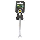 Ключ комбинированный FIT трещоточный, CrV,  8 мм