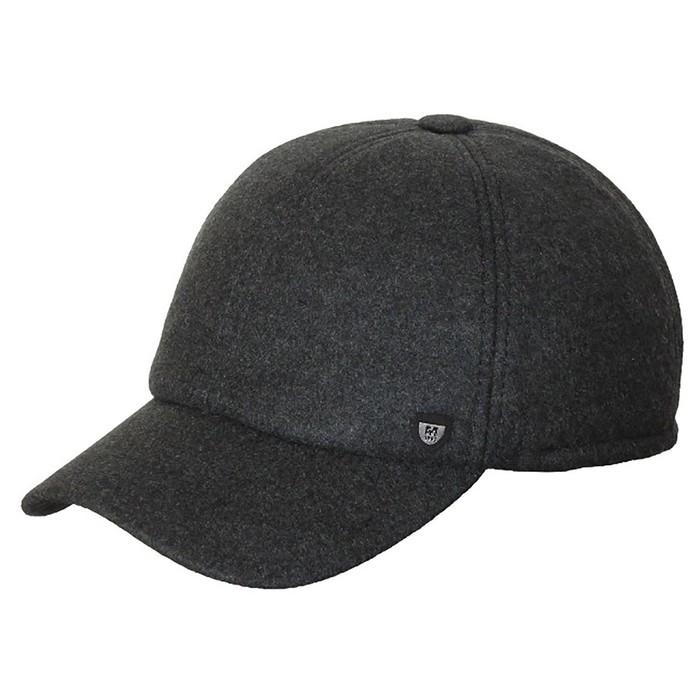 Бейсболка, размер 60-61, цвет чёрный, 156.654.552