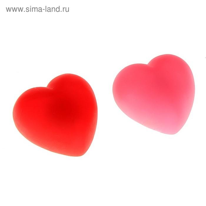 """Сувенир """"Сердце"""" с датчиком прикосновения с водой, цвета МИКС"""