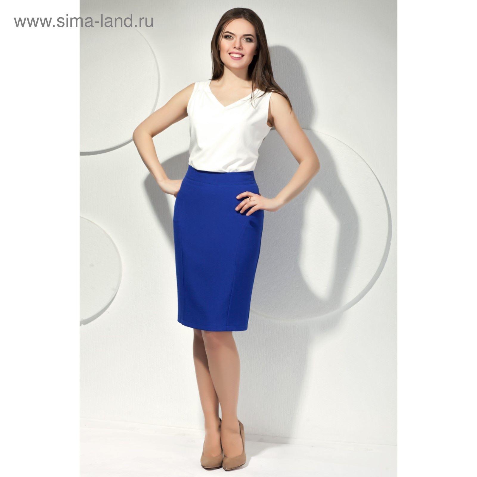 Юбка женская, размер 44, цвет синий Ю-189 1 (2720376) - Купить по ... 4833ce9fab4