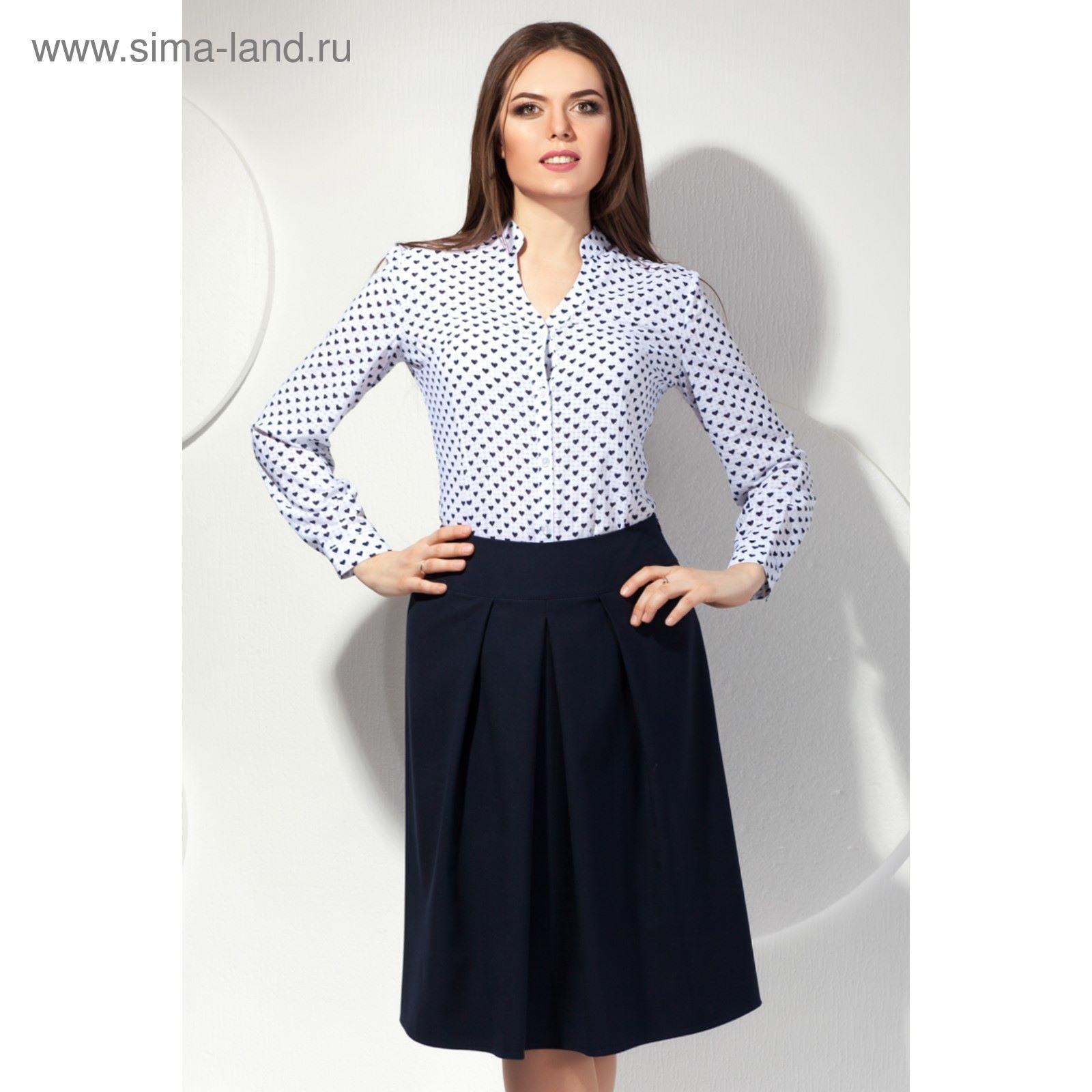 Юбка женская, размер 48, цвет тёмно-синий Ю-168 1 (2720443) - Купить ... 6e3503ea2c5